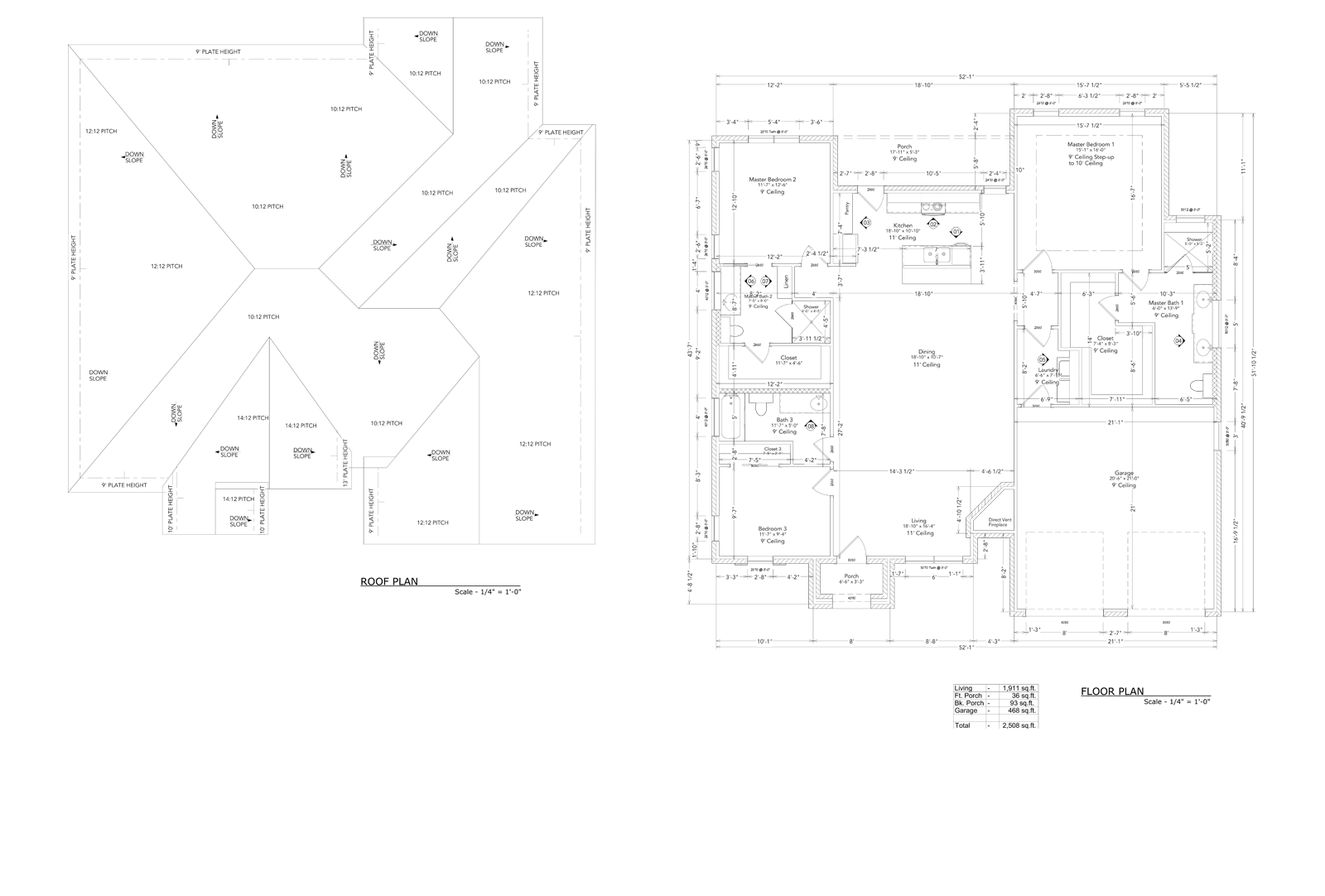 Allure Roof and Floor Plan