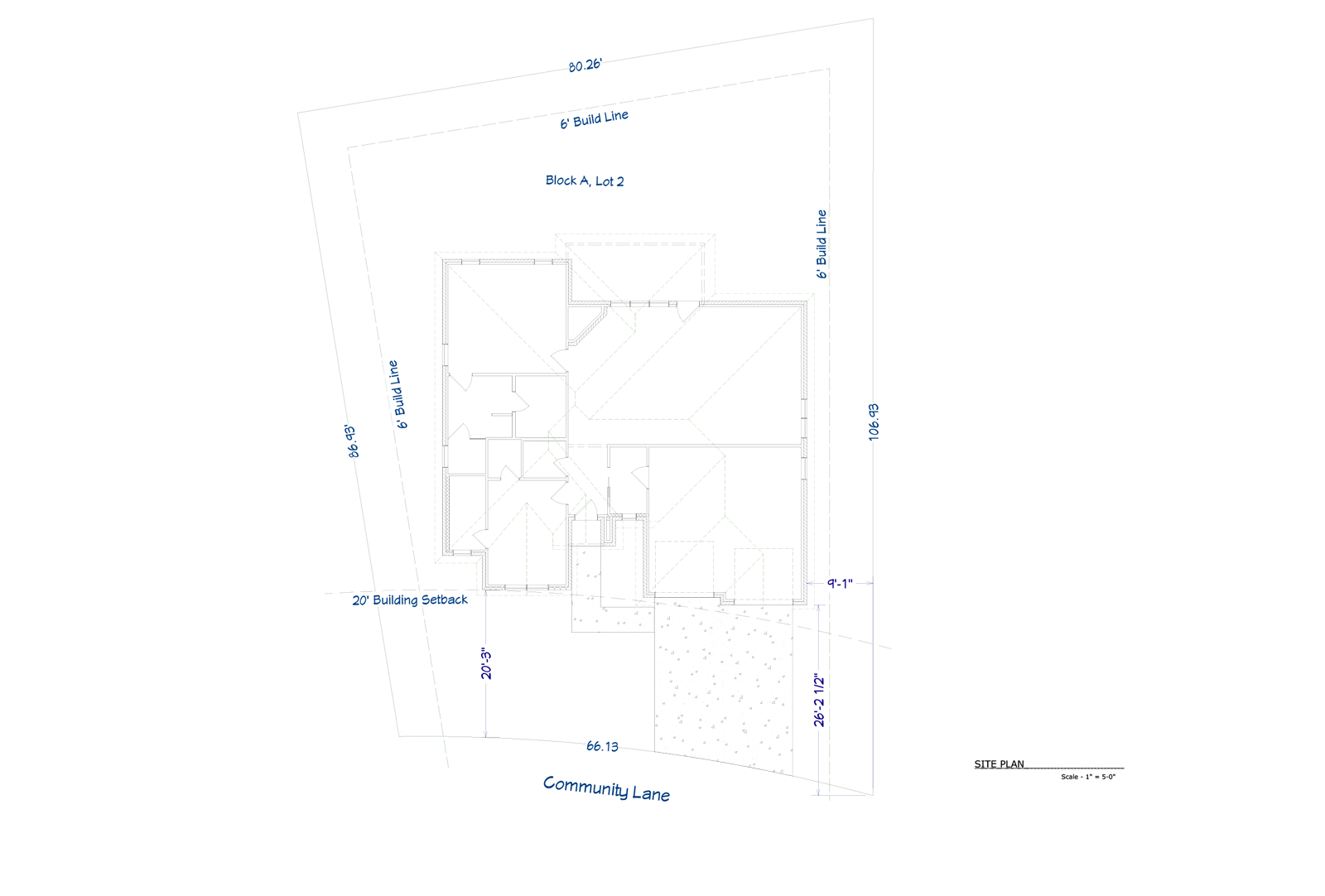 Oasis Site Plan